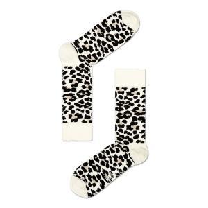 Happy Socks ハッピーソックスソックス 靴下 レディース メンズ【アニマル、レオパードブラック, ホワイト 】COMBED COTTON|headwear-blake