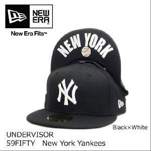 送料無料ニューエラキャップ【紫外線防止】キャップ メンズ帽子 メンズ(NEW ERA ニューエラ) レディース 男女兼用UNDERVISOR 59FUFTY|headwear-blake