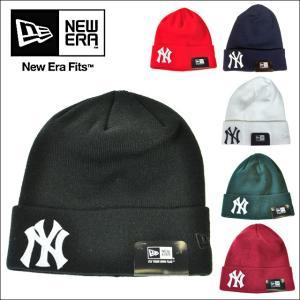 NEWERA BASIC CUFF KINT TEAM LOGOニューエラ【new era】【ベーシック、カフ、ニット】ニューヨーク・ヤンキース|headwear-blake