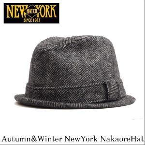 NEWYORK HAT 革 防寒 対策 秋冬 新作 ギフト オールシーズン 【メンズ レディース 帽子】ハット 中折れ|headwear-blake