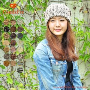 幅広い年齢層で人気秋冬ゆったり被れるつぶつぶ ニット帽 ニット帽 ニット レディース メンズ|headwear-blake