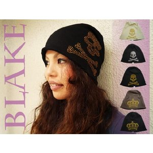帽子 オリジナルニット帽|headwear-blake