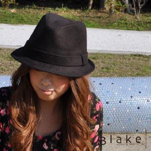帽子  人気 Blakeオリジナル オリジナルブランド中折れハット レディース帽子 レディースハット|headwear-blake
