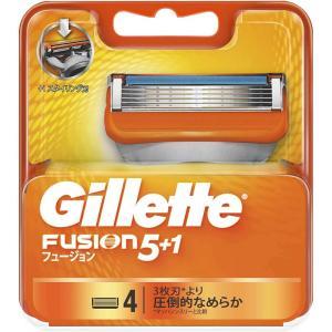 ジレット フュージョン 替刃4個入×2個セット 髭剃り シェーバー 替刃|health-city