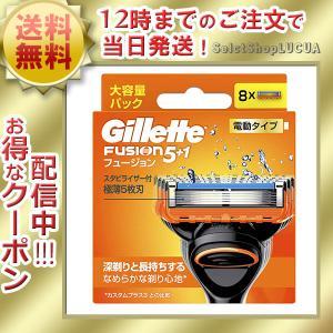 ジレット フュージョン パワー 替刃 8個 メンズ 剃刀替え刃 シェーバー 送料無料|health-city