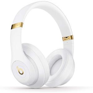 Beats Studio3 Wireless ワイヤレスノイズキャンセリングヘッドホン ホワイト Apple W1ヘッドフォンチップ|health-city