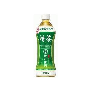 サントリー緑茶 伊右衛門 特茶(500ml×24本)「代引手数料無料」