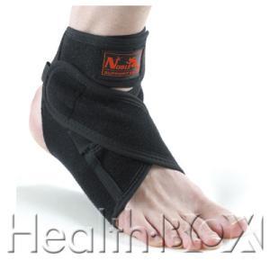 足首サポーター Noble アンクルレスキューオープン 7009(黒) フリーサイズ|healthbox