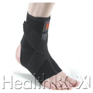 足首サポーター Noble アンクルレスキュークロスサポート 7109(黒) Mサイズ|healthbox