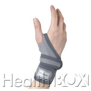 手首サポーター Noble リストレスキュー 8004(グレー) 左フリーサイズ|healthbox