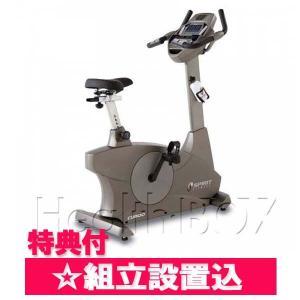 エアロバイク SPIRIT(スピリット)アップライトバイク CU800 Dyaco(ダイヤコ)設置組立付/専用マット付 healthbox