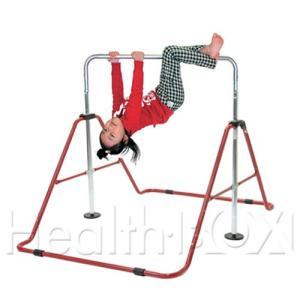 プレインバー 子供用 健康鉄棒 レッド FP-410|healthbox
