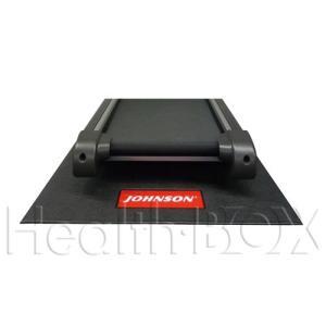 ルームランナー 電動トレッドミル 専用フロアマット YHZM0007(ジョンソンLOGO入/代金引換不可)|healthbox