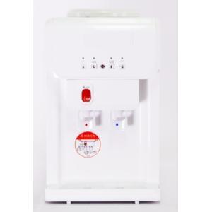 Clover温冷水ウォーターサーバー SB19A1ホワイト(卓上式)+12LPETボトル2本・スクリューキャップ2個セット|healthcare-div