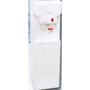 Clover温冷水ウォーターサーバー B19A1ホワイト(床置式)+12LPETボトル2本・スクリューキャップ2個セット|healthcare-div