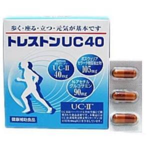 関節のさぽーとに ワキ製薬 UC-II(非変性II型コラーゲン・鶏由来)配合 スーパートレカットUC40  60カプセル 送料無料!|healthcare-div