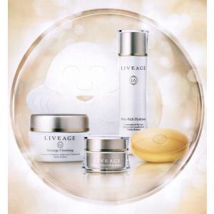 アライヴン話題の化粧品シリーズ。LIVEGE(ライヴァージュ)基礎化粧品5点セットがお肌の健康をお守...