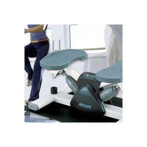このステッパーは従来品と違い、つま先で踏むタイプよりひざへの負担が少なく、ひざや腰への衝撃を和らげ、...