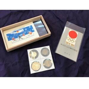 日本の歴代オリンピック記念硬貨・切手コレクション