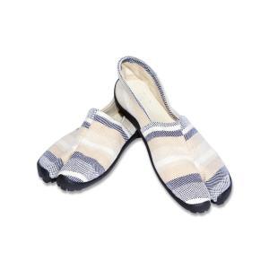 裸足にならなくてもアーシングが体験できるTABI (足袋)です。  明治から続く地下たびの老舗製造業...
