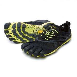 Vibram FiveFingers V-Run (Black/Yellow)【Mens】|healthselect