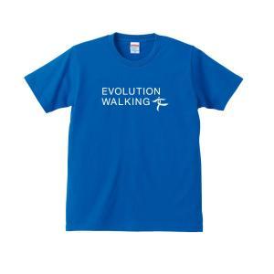 ウォーキングTシャツ B002 (ロイヤルブルー)【Mens】|healthselect