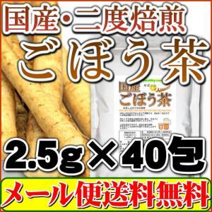 2度焙煎仕立:国産ごぼう茶100g(国内生産・国内加工)【メール便専用】【送料無料】|healthy-c