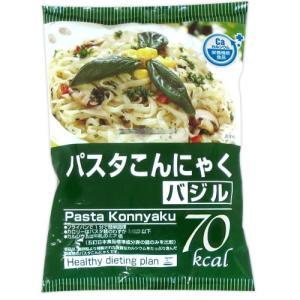 こんにゃくパスタ バジルソース×24食【送料無料】 healthy-c