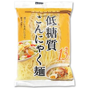 低糖質こんにゃく麺 平細 12食 送料無料|healthy-c