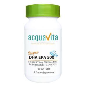 アクアヴィータ スーパーDHAEPA500 30粒  - ACQUA|healthy-good