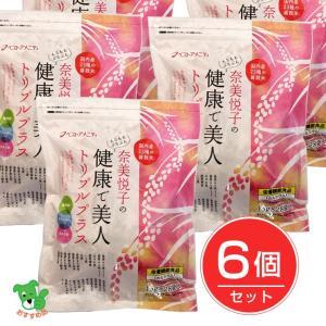 奈美悦子の健康で美人 国内産23種雑穀米 トリプルプラス 15g×28袋×6個セット  - ベストアメニティ healthy-good