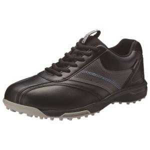 [数量限定 在庫一掃セール] スポルディング グラウンドゴルフ シューズ SP301 ブラック ブラック 27.0cm  - 羽立工業|healthy-good