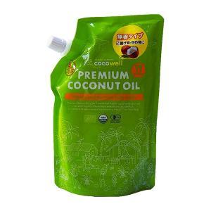 ココウェル プレミアムココナッツオイル 500ml  - ココウェル healthy-good