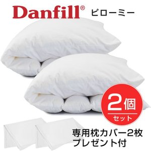 Danfill ダンフィル ピローミー 65cm×45cm JPA013 2個セット 専用カバーAKF17 2枚プレゼント付き  - ダンフィル|healthy-good