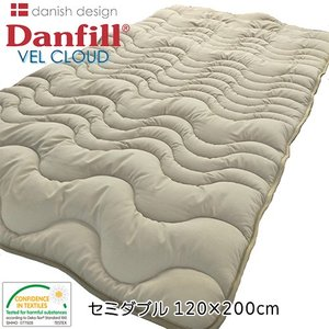 ダンフィル Danfill ベルクラウド あったかプラス敷きパッド セミダブル ライトブラウン 120×200cm  - アペックス|healthy-good
