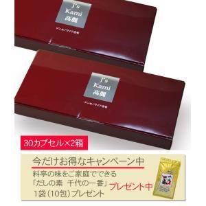 ファイブイーライフ Js Kami 高麗 250mg×30カプセル ×2個セット ※今なら千代の一番プレゼント付 - ファイブイーライフ healthy-good