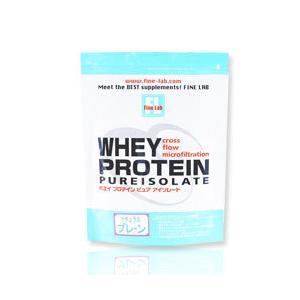 ファインラボ ホエイプロテイン ピュアアイソレート プレーン 1kg  - ファインラボ|healthy-good