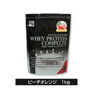 ファインラボ ホエイプロテインコンプリート ピーチオレンジ 1kg  - ファインラボ|healthy-good