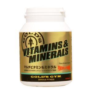 ゴールドジム マルチビタミン&ミネラル 180粒  - THINKフィットネス healthy-good