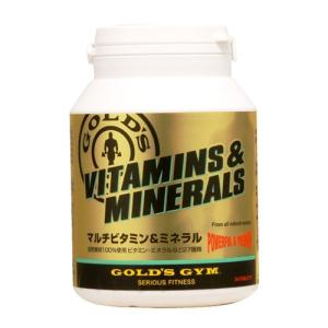 ゴールドジム マルチビタミン&ミネラル 360粒  - THINKフィットネス|healthy-good