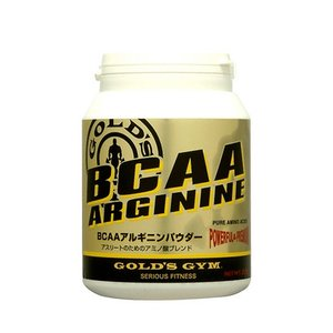 ゴールドジム BCAAアルギニンパウダー 400g  - THINKフィットネス|healthy-good