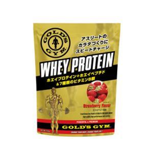 ゴールドジム ホエイプロテイン ストロベリー風味 1500g  - THINKフィットネス|healthy-good