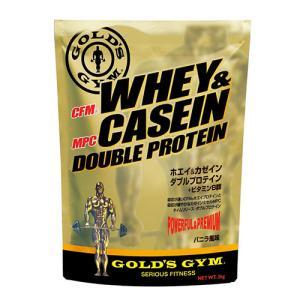 ゴールドジム ホエイ&カゼインダブル プロテイン 900g  - THINKフィットネス|healthy-good