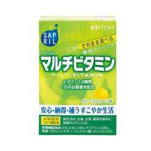 サプリル マルチビタミン 30袋  - 井藤漢方製薬|healthy-good