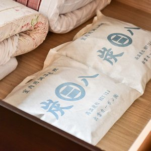 炭八 室内用調湿木炭 12リットル×4個セット+プレゼント付  - 出雲カーボン|healthy-good|02