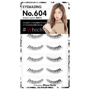 「EYEMAZING 604 5ペア」は、」は、Popteenの専属モデルの池田美優ことみちょぱがプ...