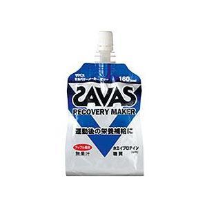 ザバス(SAVAS) リカバリーメーカーゼリー 180g×36個  - 明治