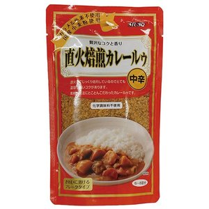 直火焙煎カレールゥ 中辛 170g  - ムソー