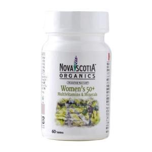 ノバスコシアオーガニックス マルチビタミン&ミネラル ウーマンリバランス 60粒  - ノバスコシア|healthy-good