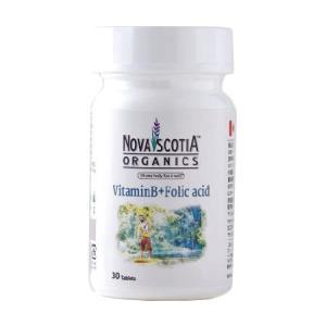 ノバスコシアオーガニックス ビタミンB群+葉酸 エナジーバーン 30粒  - ノバスコシア healthy-good